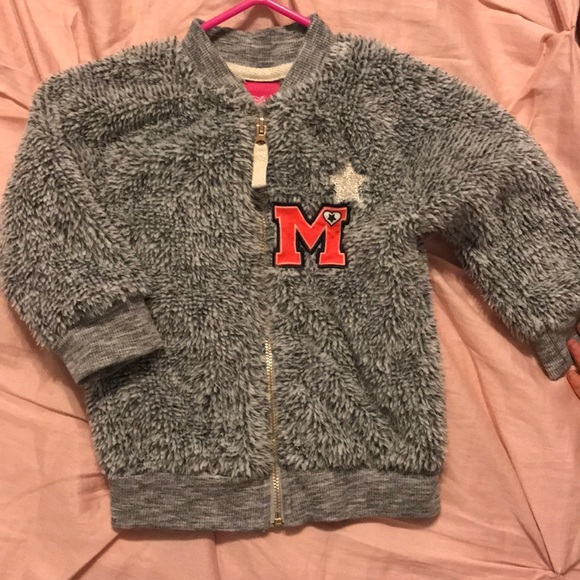 Disney Other - Disney Minnie Mouse Sherpa jacket